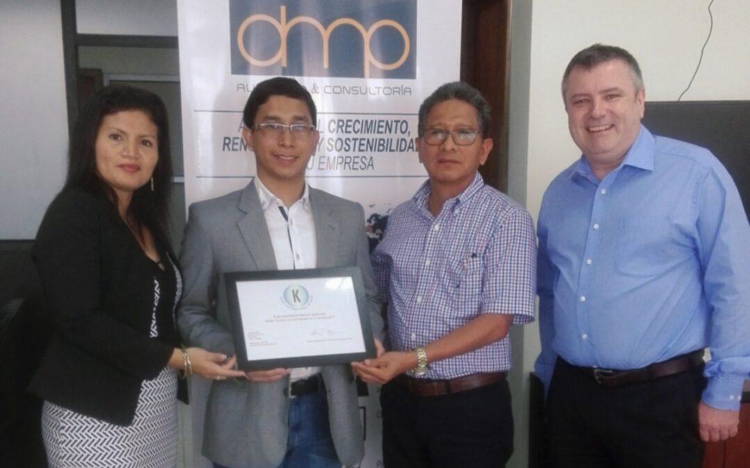 Acman Cía. Ltda. consigue su membresía completa en Kudos International Network